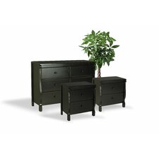 Bachelder Wood 3 Piece Dresser and Chest Set by Darby Home Co