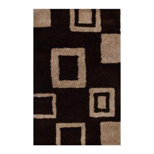 Hand-Woven Brown/Beige Area Ru...