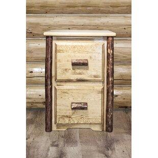 Tustin 2-Drawer File Cabinet by Loon Peak