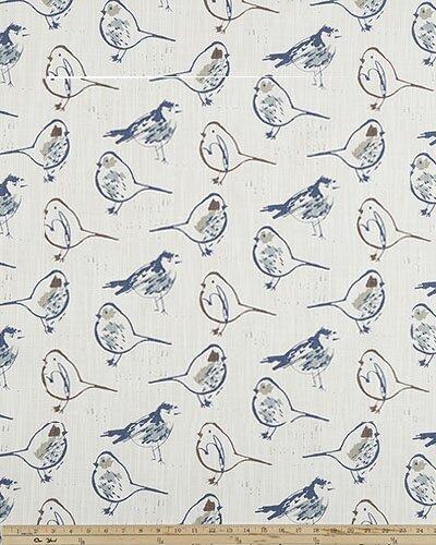 Brayden Studio Horrell Bird Sketch Toile Room Darkening Rod Pocket Single Curtain Panel Wayfair
