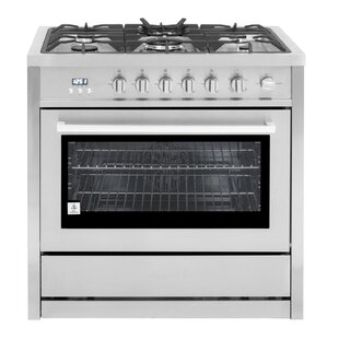 36 Free-standing Gas Range by Cosmo