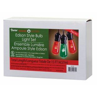 Christmas Edison Lights 10 Light Bulb
