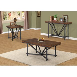 Haith 3 Piece Coffee Table Set