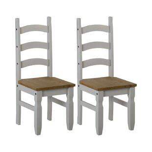 Dodge Solid Wood Dinning Chair (Set Of 2) By Union Rustic