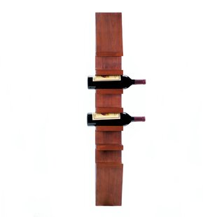 Rithland Sleek Wooden 6 Bottle Wall Mounted Wine Rack by Fleur De Lis Living