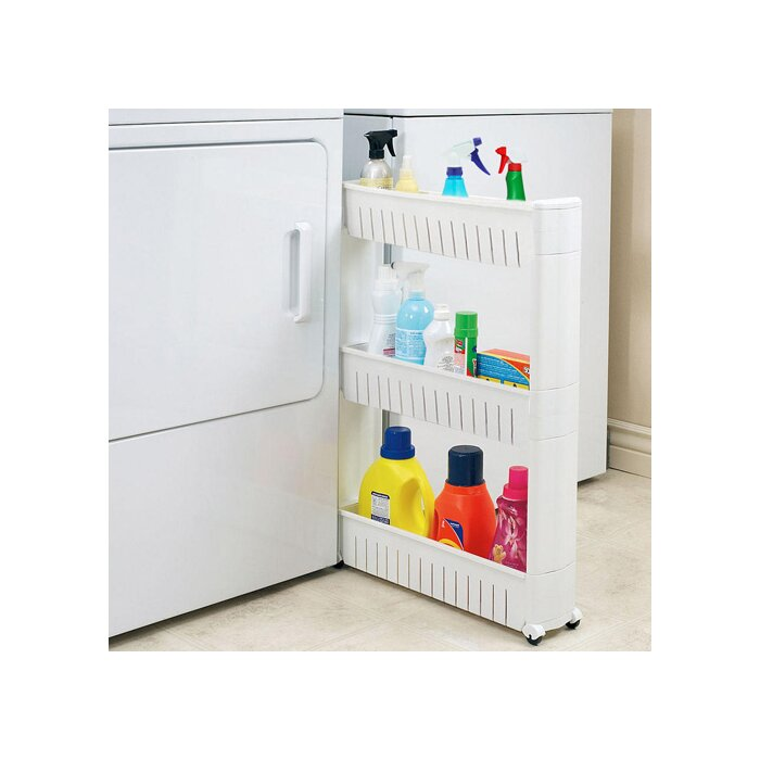 Good Narrow Sliding Storage Organizer Rack