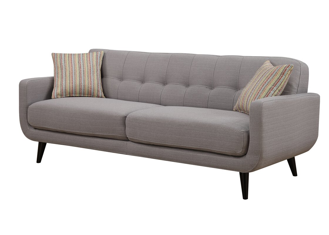 Superb Crystal Mid Century Sofa