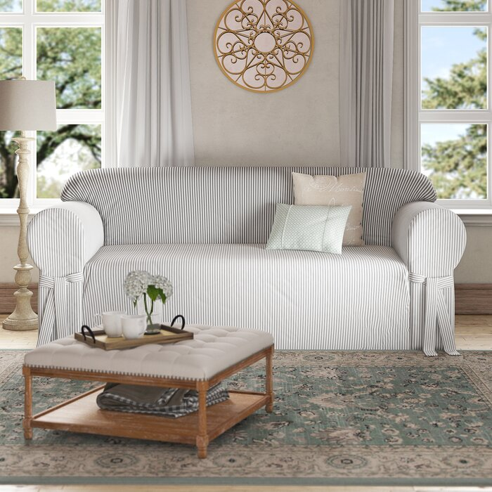Incredible Box Cushion Sofa Slipcover Onthecornerstone Fun Painted Chair Ideas Images Onthecornerstoneorg