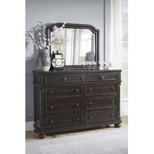 Almont 8 Drawer Dresser with Mirror by Darby Home Co