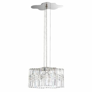 Selene 2-Light LED Crystal Chandelier by Swarovski