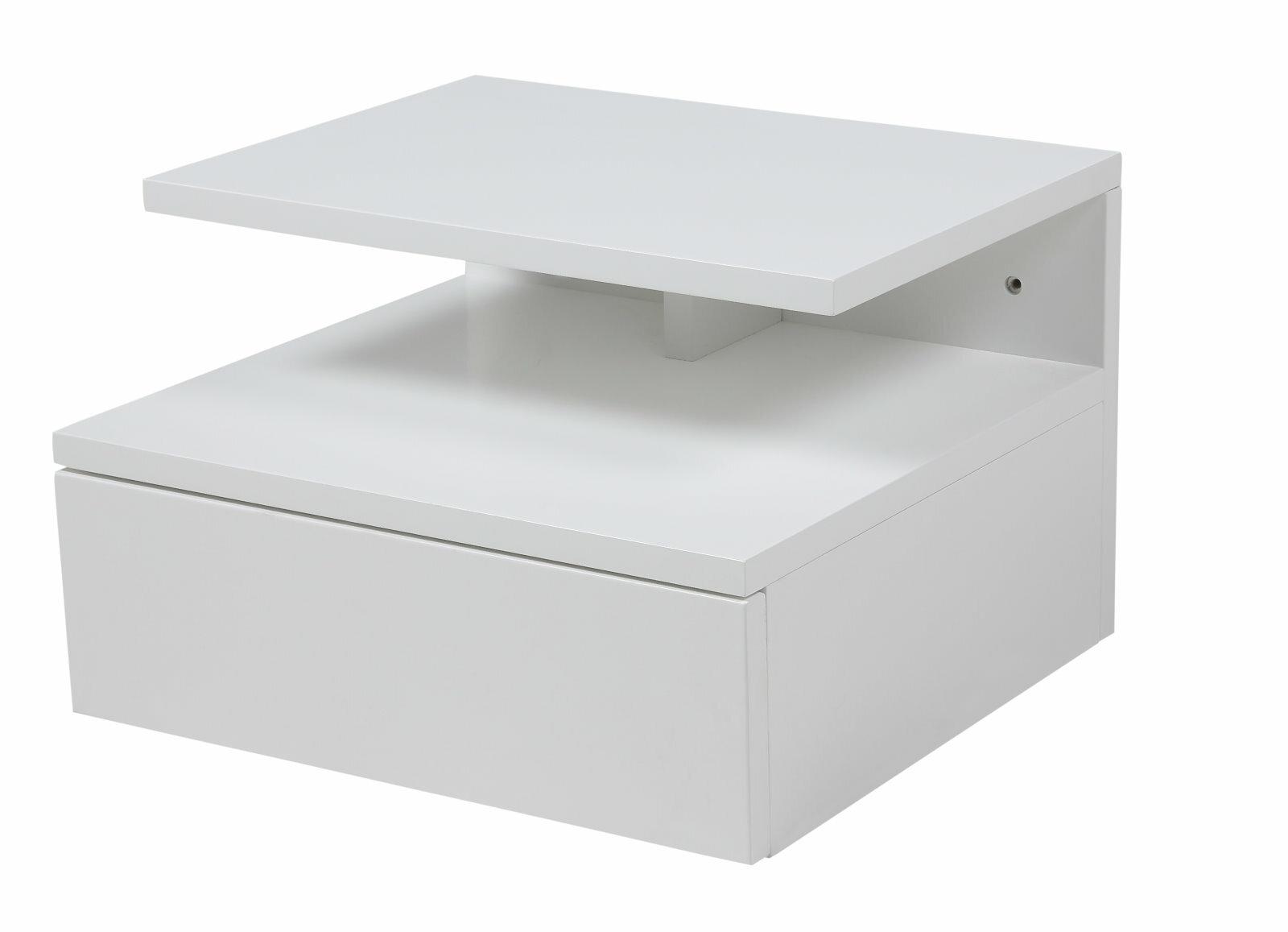 17 stories adela 1 drawer bedside table ldru2884