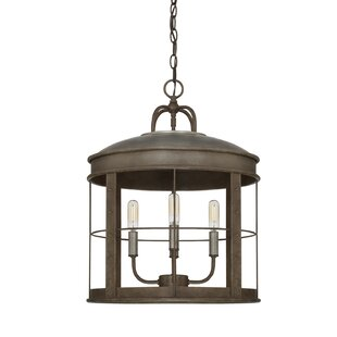 Goodall 4-Light Lantern Chandelier by Bre..