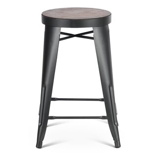 Rollins 24'' Bar Stool Williston Forge