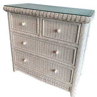 Highland Dunes Flesher 4 Drawer Dresser