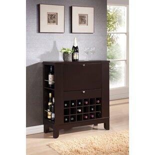 GrangeoverSands Bar with Wine Storage by Alcott Hill
