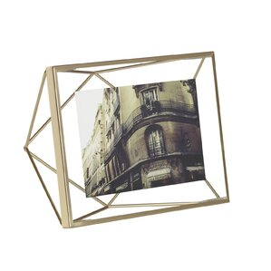 prisma brass picture frame - Modern Picture Frame