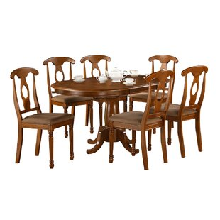 Darby Home Co Stella 7 Piece Extendable Dining Set