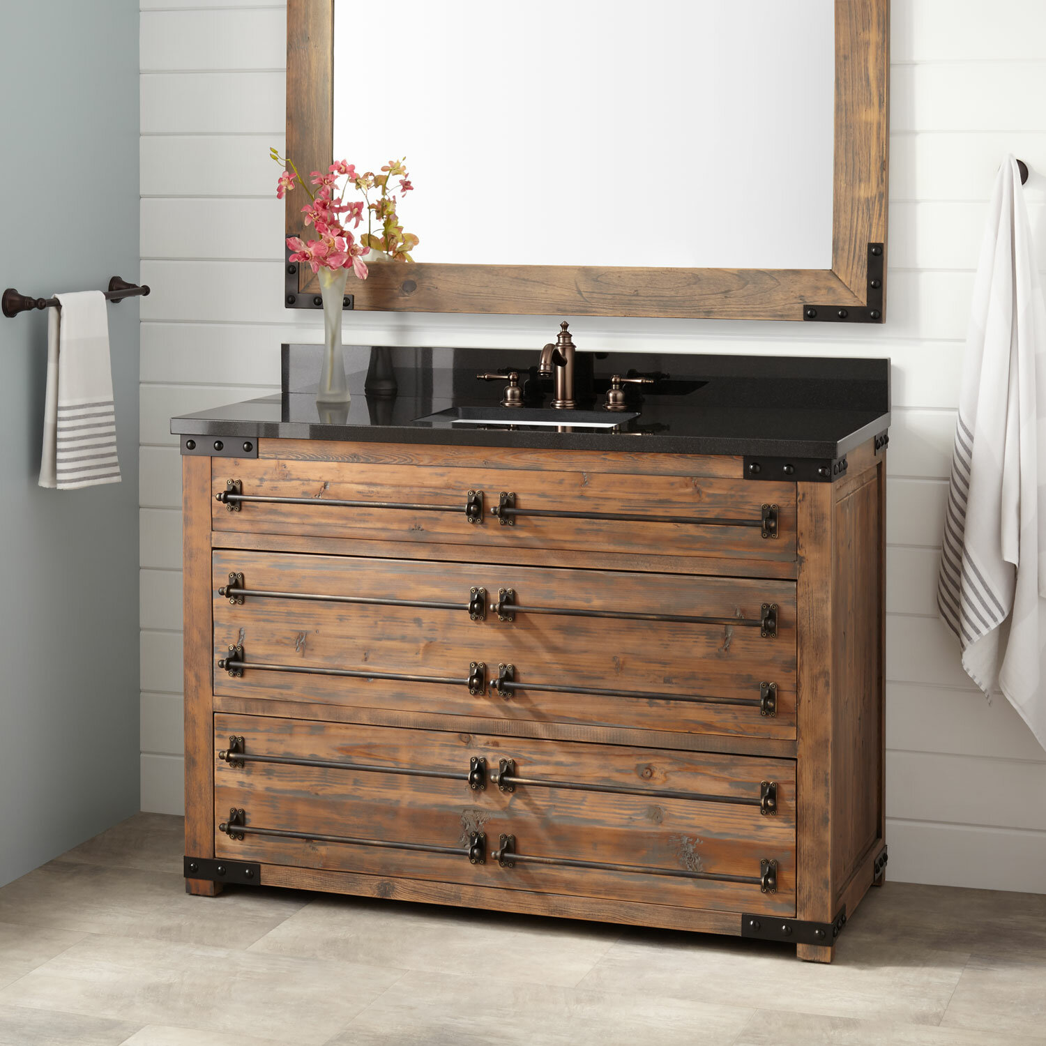 Bonner Pine 49 Single Bathroom Vanity