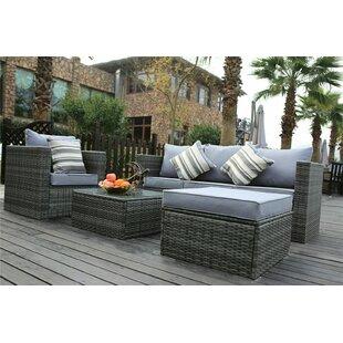 Cieran 5 Seater Rattan Sofa Set By Sol 72 Outdoor