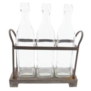 Amatia 3 Bottle Tabletop Wine Rack By Symple Stuff