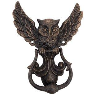 Mystical Spirit Owl Authentic Foundry Door Knocker