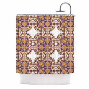 Ornamental Tiles Shower Curtain