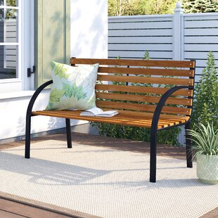 Steel Bench By Sol 72 Outdoor