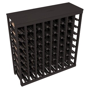 Karnes Pine 64 Bottle Floor Wine Rack by ..