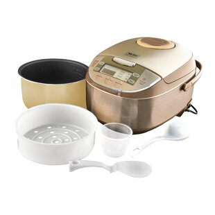 6-Cup Professional Digital Rice Cooker