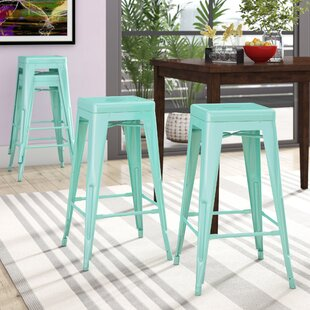 Compare & Buy Hacker 30 Bar Stool (Set of 4) by Brayden Studio Reviews (2019) & Buyer's Guide