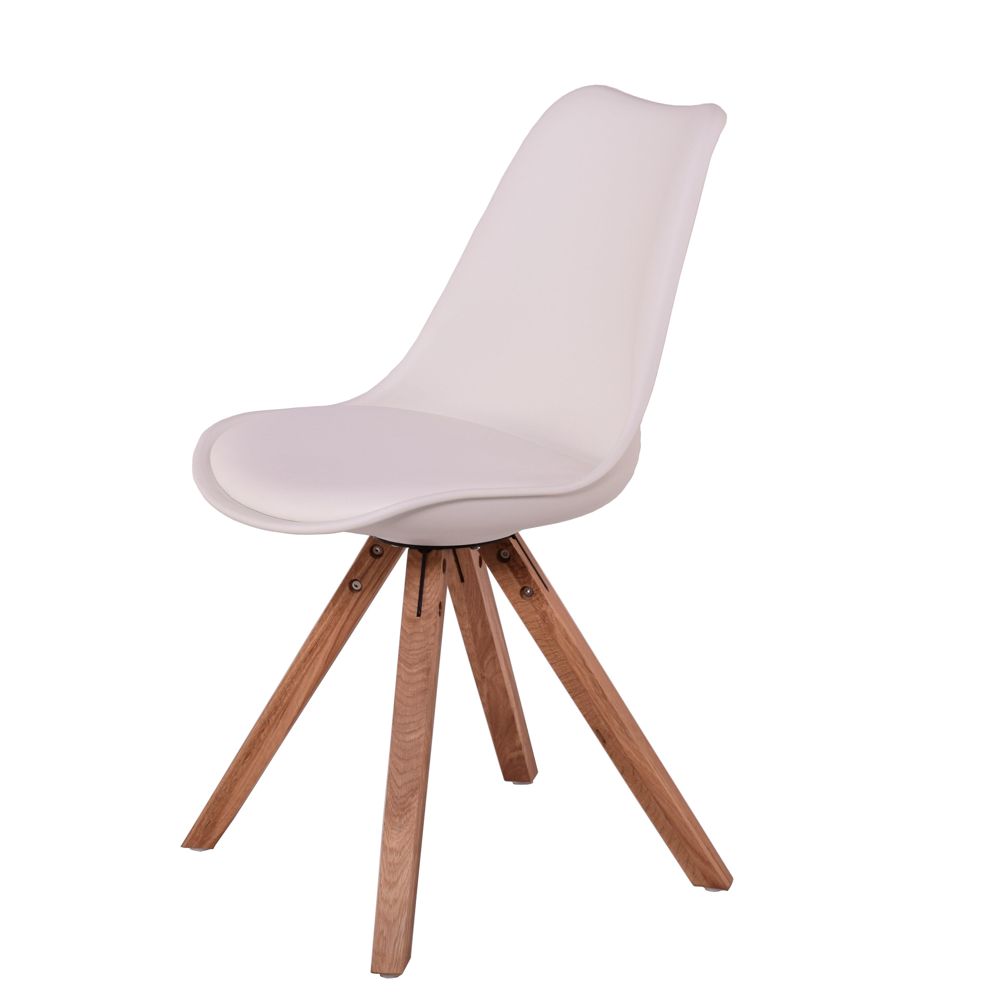 9820ff1422 Modern Chairs USA Lugano Upholstered Dining Chair   Wayfair