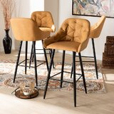 Rina 29.5'' Bar Stool (Set of 4) by George Oliver