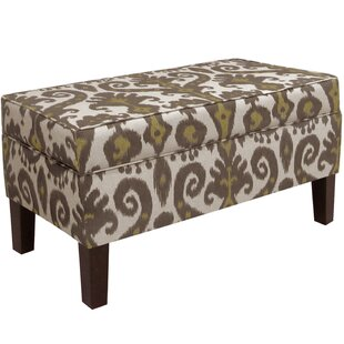 Alcott Hill Hogans Upholstered Storage Bench