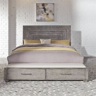 Roeut California King Solid Wood Low Profile Platform Bed by Gracie Oaks