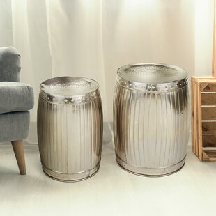 Cook 2 Piece Nesting Tables by Rosdorf Park Spacial Price