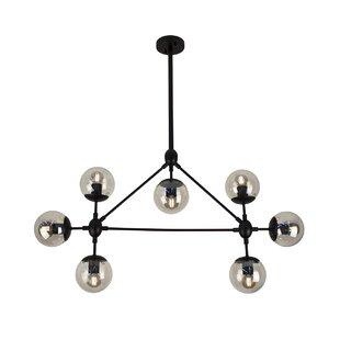 Wrought Studio Ehrhart 7-Light Sputnik Chandelier