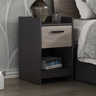 Central Park 1 Drawer Nightstand by Homestar
