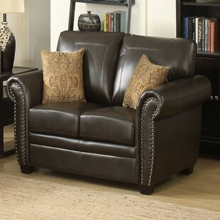 Eastwood Leather Loveseat