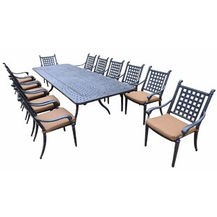 Arness 16 Piece Dining Set and Bistro Set by Darby Home Co