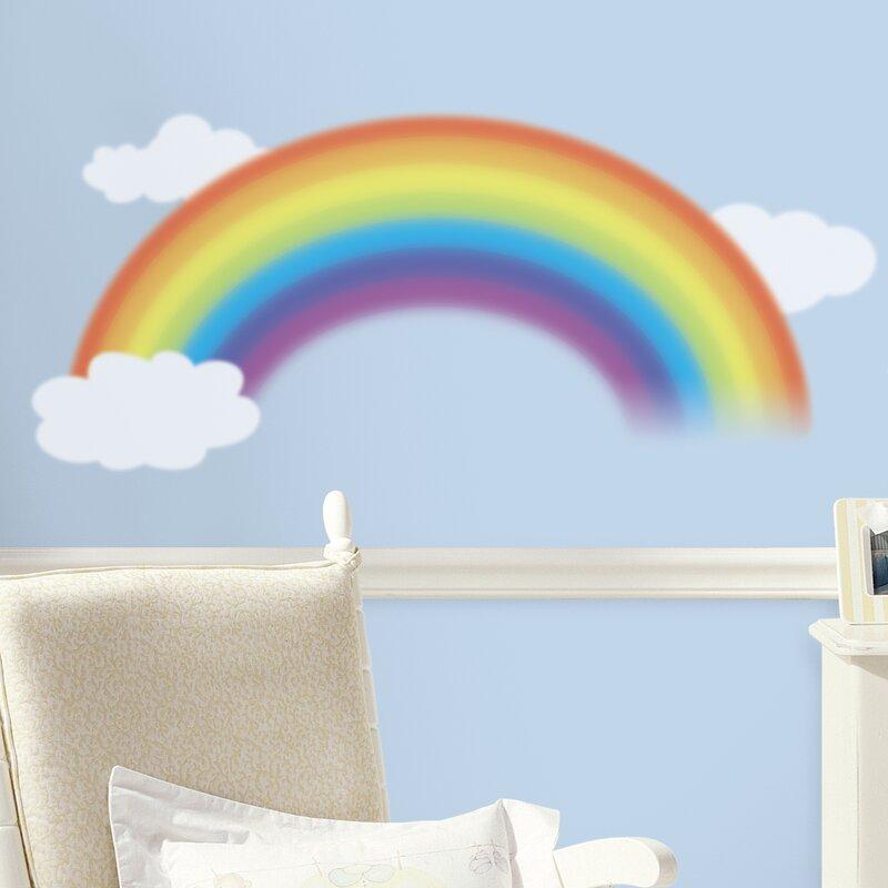 Harriet Bee Sunny Over The Rainbow Wall Decal