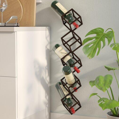 Unique Wine Racks | Kirwan 5 Bottle Cubes Wine Rack