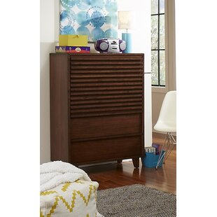 Brayden Studio Schuster 5 Drawer Chest