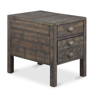 Sasser End Table by Three Posts