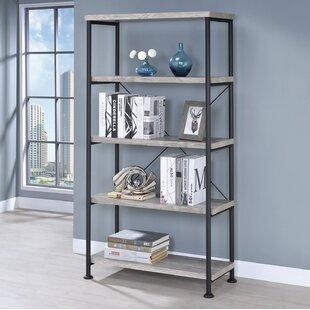 Rubio Etagere Bookcase by Gracie Oaks