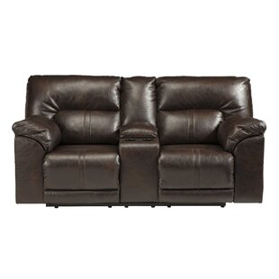 Thao Double Console Reclining Sofa by Winston Porter Best