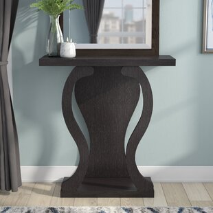 Ebern Designs Hubbard Wavy Console Table