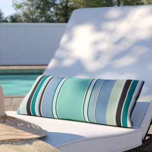 Peach Outdoor Lumbar Pillow