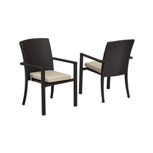 Solana Patio Dining Chair with Cushions
