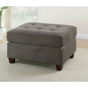Brazoria Cocktail Ottoman by Charlton Home