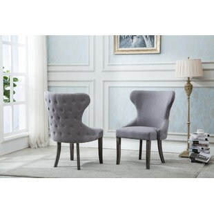 Shaner Upholstered Dining Chair (Set of 2) Gracie Oaks